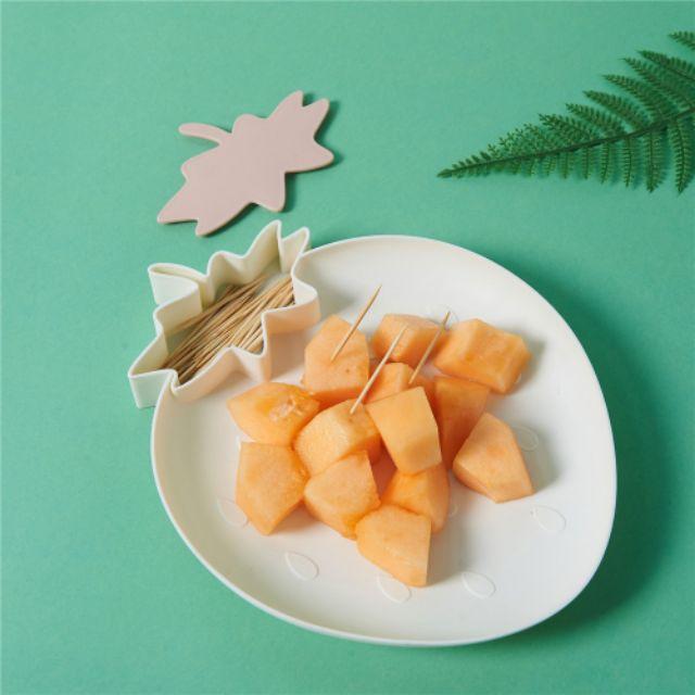 Đĩa , khay trang trí, đĩa hoa quả hình dâu tây