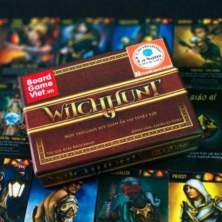 Boardgame WITCHHUNT VIỆT HOÁ – THỢ SĂN PHÙ THỦY