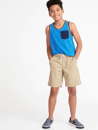 [Ảnh thật] Quần short bé trai xuất dư xịn oldnavyyy VNXK size đại chất kaki mềm ( Size 5/6-14/16 tuổi)