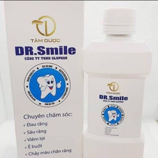 2 chai tinh dầu dr smile đặc trị các bệnh răng miệng