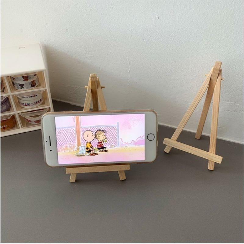 Giá đỡ điện thoại, tranh ảnh mini bằng gỗ