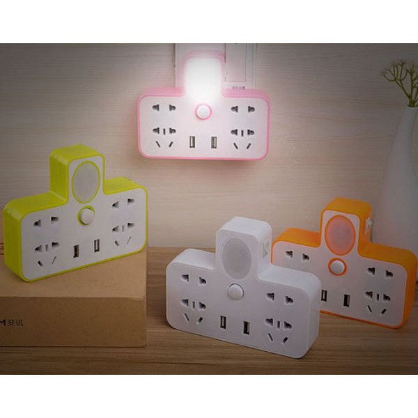 Ổ cắm điện đa năng kiêm đèn ngủ 2 cổng usb - 3168429 , 1294556999 , 322_1294556999 , 100000 , O-cam-dien-da-nang-kiem-den-ngu-2-cong-usb-322_1294556999 , shopee.vn , Ổ cắm điện đa năng kiêm đèn ngủ 2 cổng usb