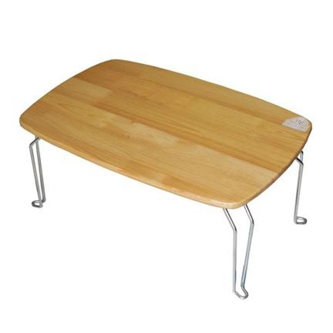 Bàn gấp gỗ thông tự nhiên HS01