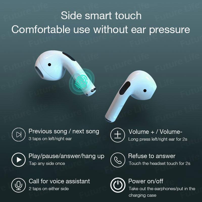 Tai Nghe Bluetooth Nhét Tai Không Dây Aivk Inpods Pro 4