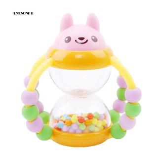 ♕Multicolor Cartoon Animal Round Balls Flower Basket Baby Pram Crib Rattle Toy