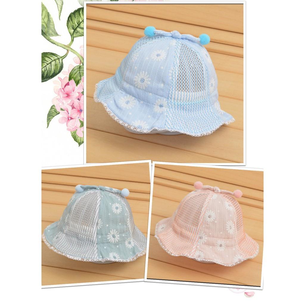 Mũ Nón ren hoa bé gái 6 đến 24 tháng_Mã 15