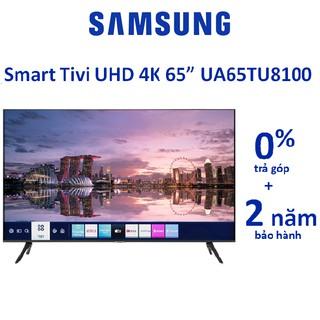 Smart Tivi SamSung UHD 4K 65 inch 65TU8100 2020
