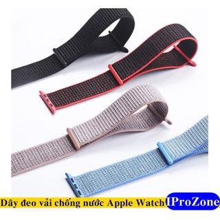 Dây đeo vải Sport loop cho Apple watch đủ size 38 /40 /42 /44