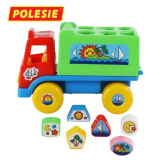 [Nhập mã TOYOCT giảm 10% tối đa 15K đơn từ 50K]Xe tải thả hình Island đồ chơi – Polesie Toys