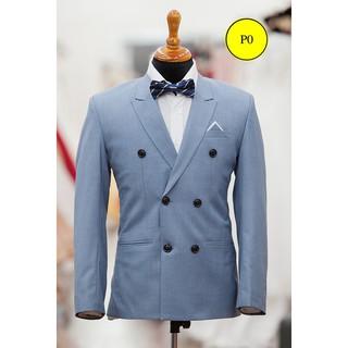 áo vest nam suit dòng 6 nút-ACTT