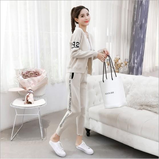 FREESHIP TỪ 99K_Set Quần len áo len phong cách Hàn Quốc siêu đáng yêu   SaleOff247