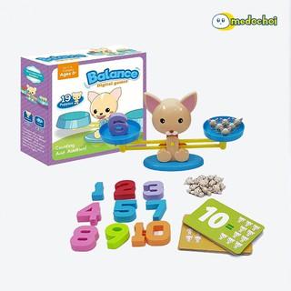 Học toán cùng mèo PUP – Balance Game – Đồ chơi tương tác giáo dục