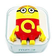 Máy Nghe Nhac Mp3 Minion Cực Cute Năng Động( Đỏ) Nkt1 -6280