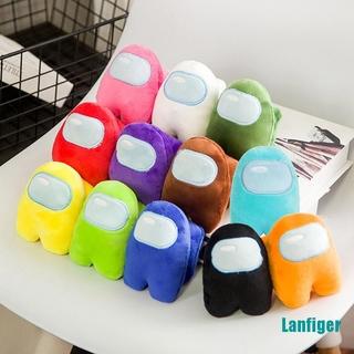 【Lanfiger】1PC Soft Plush Colorful Among Us Plush Toy Game Doll Gift Kawaii Stuffed Toy