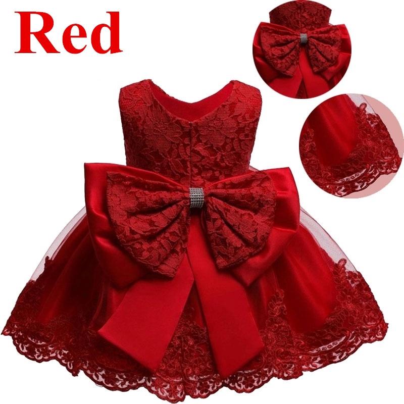 Đầm ren công chúa xinh xắn dành cho bé gái