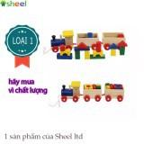 Bộ đồ chơi xe lửa bằng gỗ NULI LOẠI 1