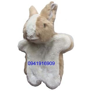 Rối tay thỏ nâu