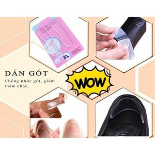 Combo 4 miếng lót giày silicon chống đau chân cho mọi người