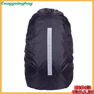 Sports.20-45L Reflective Waterproof Rain Dust Backpack Bag Cover Safety Travel