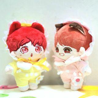 Set đồ baby cho doll 20cm (set gồm nón và áo)