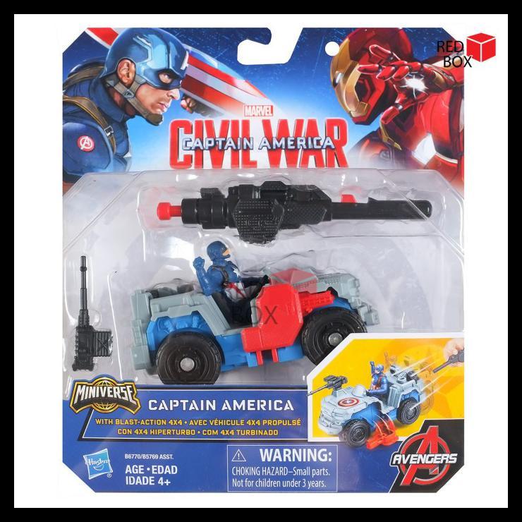 Mô hình nhân vật Captain America cỡ 4X4