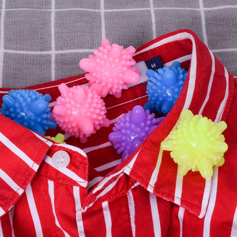Bóng giặt quần áo - bóng giặt sinh học - bóng gai giặt đồ thông minh chống nhăn (BGM01)