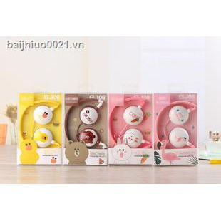 ✶Champions league better G - 106 brown bear pink bunny cartoon head-mounted take wheat phone Singapore selling headsets