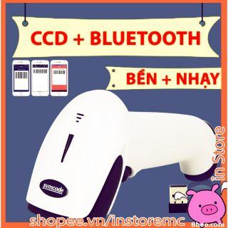 Yêu Thíchivn083 máy quét mã vạch bluetooth hồng quang ccd quét được màn hình, độ nhạy cao