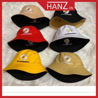 Mũ nón bucket nhiều màu nam nữ thời trang phong cách