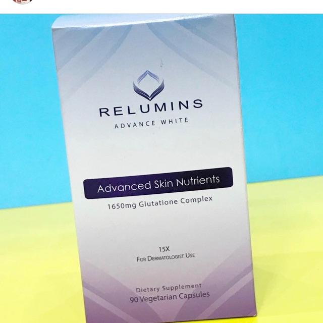 Viên Uống Trắng Da Relumin Advance White