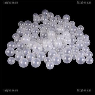 {lazy} 50pcs/lot Baby Safety Transparent White Plastic Pool Ocean Balls Funny Toys{bone}