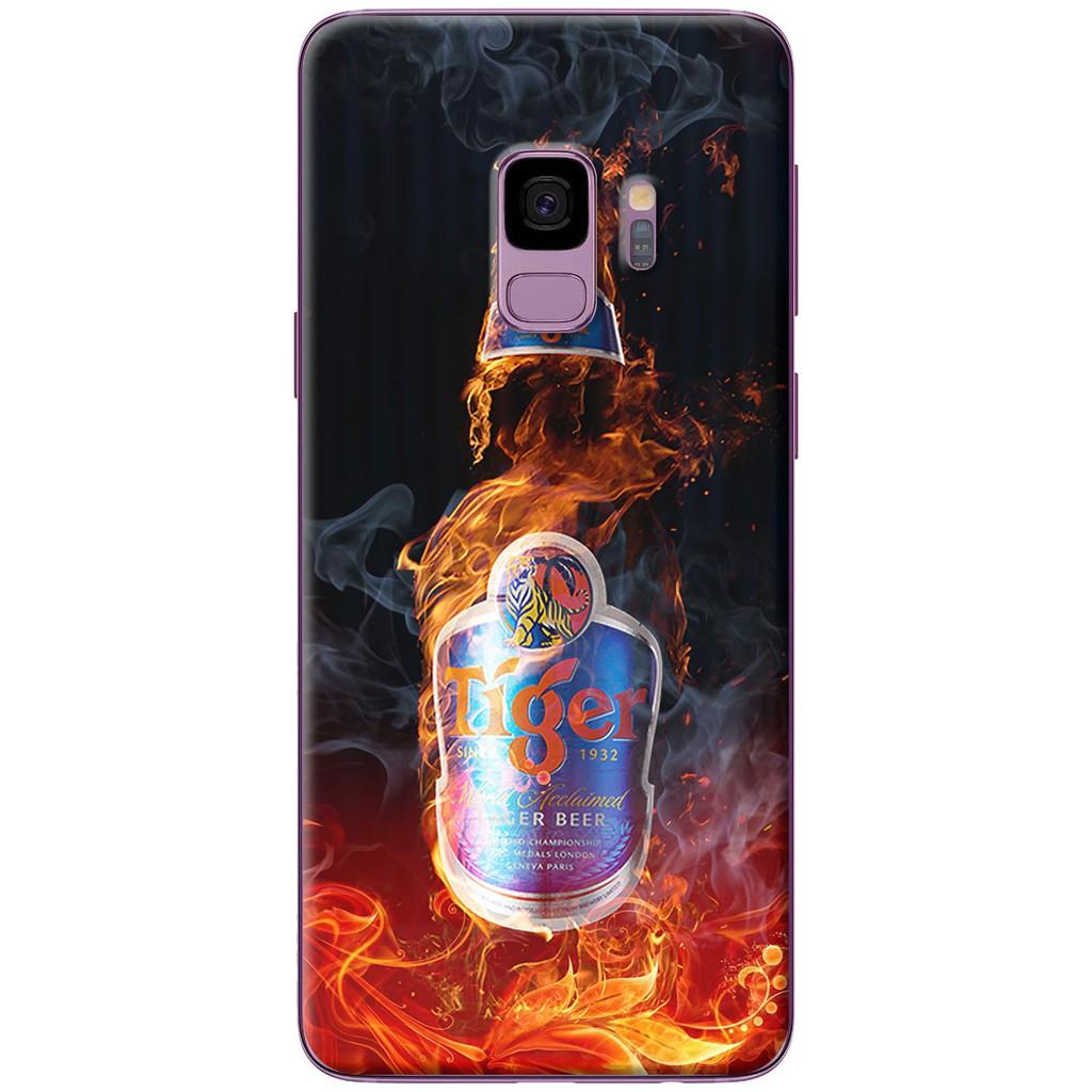 Ốp lưng nhựa dẻo Samsung S9, S9 Plus Bia lửa