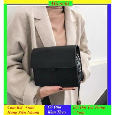 Túi Xách Nữ Đeo Chéo ❤️ FREESHIP❤️ Màu Đen Huyền Bí Sang Trọng Vô Cùng Chất Hàng Xuất Khẩu Có Video Và ảnh Thật TX01