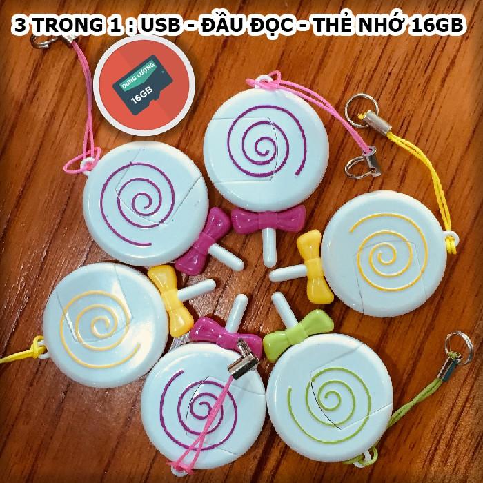 [ 16gb ] - 3 trong 1 : USB - Đầu đọc - Thẻ nhớ , dung lượng 16gb - bảo hành 1 năm - 2736971 , 1244430528 , 322_1244430528 , 160000 , -16gb-3-trong-1-USB-Dau-doc-The-nho-dung-luong-16gb-bao-hanh-1-nam-322_1244430528 , shopee.vn , [ 16gb ] - 3 trong 1 : USB - Đầu đọc - Thẻ nhớ , dung lượng 16gb - bảo hành 1 năm