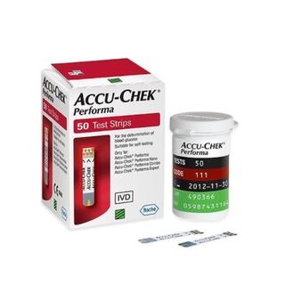 Hộp 50 que thử đường huyết Accu Check Per thumbnail