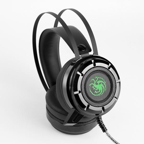 Tai nghe chuyên game kèm mic EXAVP N61 có đèn Led (Đen)