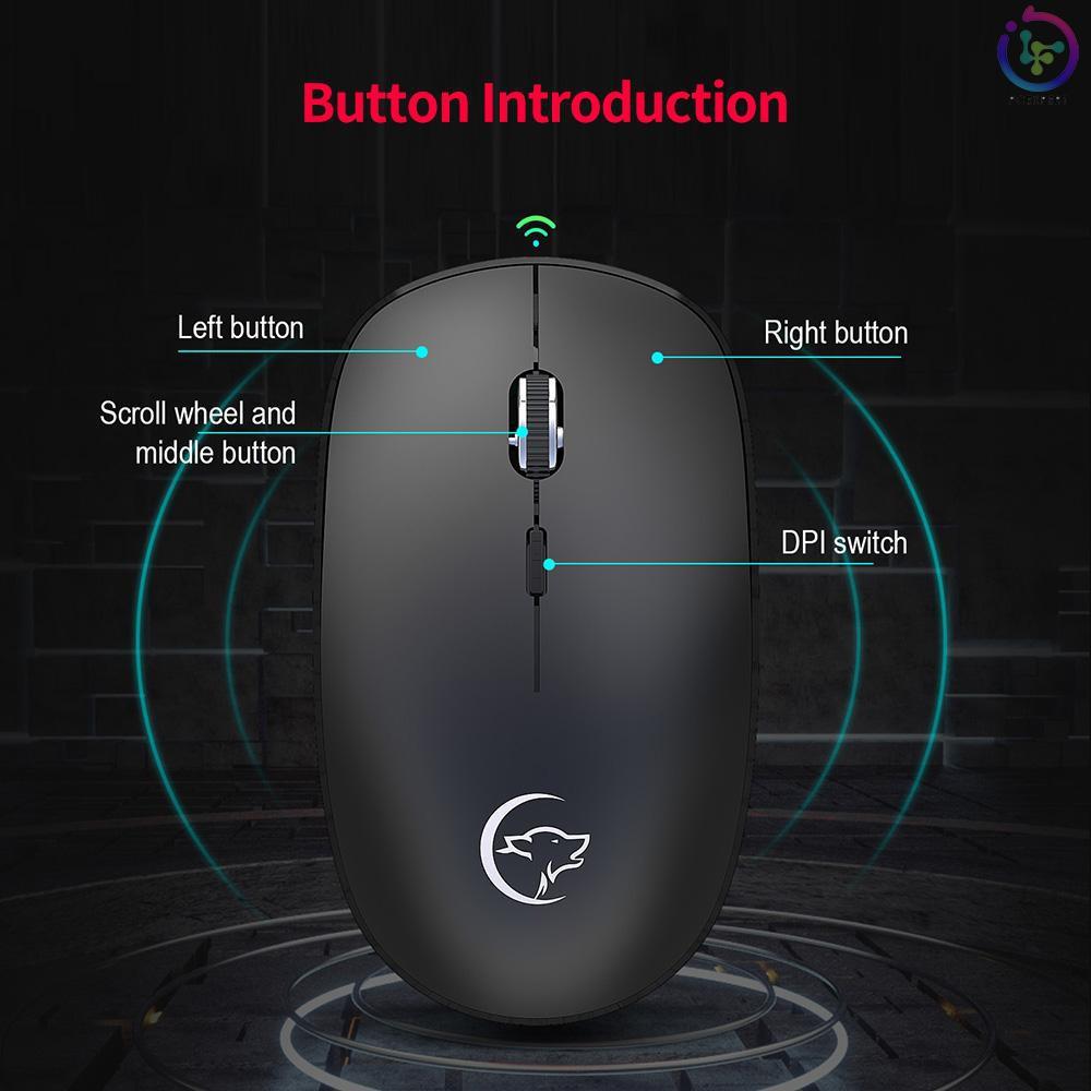 Chuột Gaming Ywyt G834 2.4g 3 Nút Bấm Kết Nối Usb Cho Máy Tính