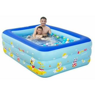 Bể bơi hình chữ nhật 3 tầng 1m3