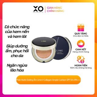 Phấn Nước Dưỡng Ẩm Lime V Collagen Ample Cushion SPF 50+ PA +++ 20g make up đa năng thumbnail