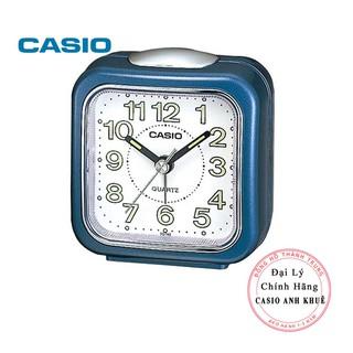 Đồng hồ để bàn Casio TQ-142-2DF có báo thức, dạ quang ( 7.7×7.2×4.9 cm )