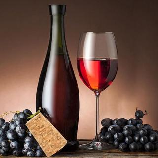 Chai Rượu Vang 100 Cái Cork Rượu Vang đỏ Nút Chai Rượu Vang Hình Nón Nút Gỗ Tự Nhiên Mới Bền thumbnail