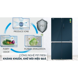 Tủ lạnh Toshiba inverter 622 lít GR-RF646WE-PGV.
