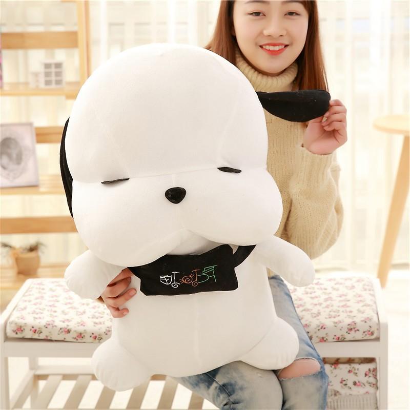 Gấu Bông Cún Bông Mắt Híp Đáng Yêu Size 30cm - Quà Tặng Quà Sinh Nhật Độc Đáo Ý Nghĩa