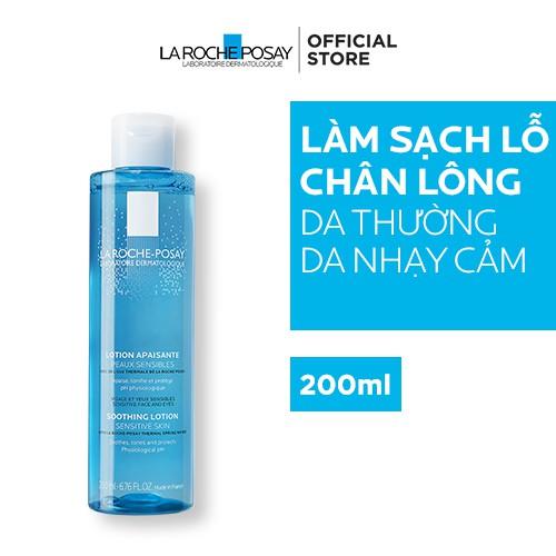 Nước cân bằng giúp làm dịu và bảo vệ da nhạy cảm La Roche-Posay Lotion Sensitive Skin 200ml