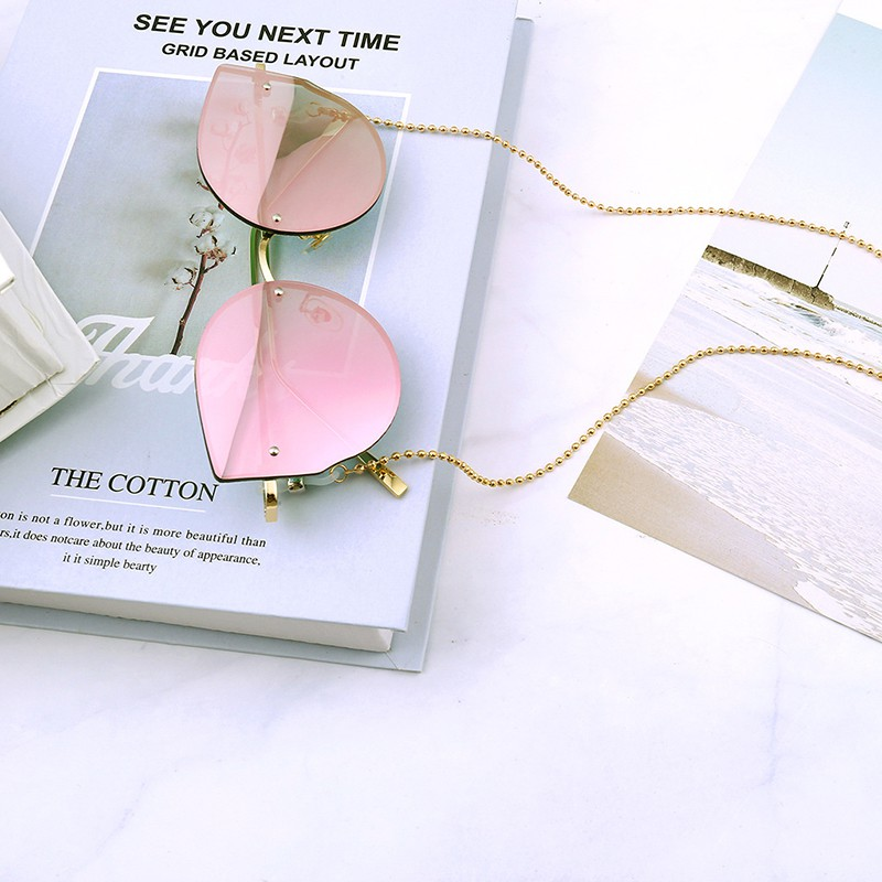 [funnyhouse]Eye Glasses Sunglasses Spectacles Chain Holder Cord Necklace Reading Chain Beads thro