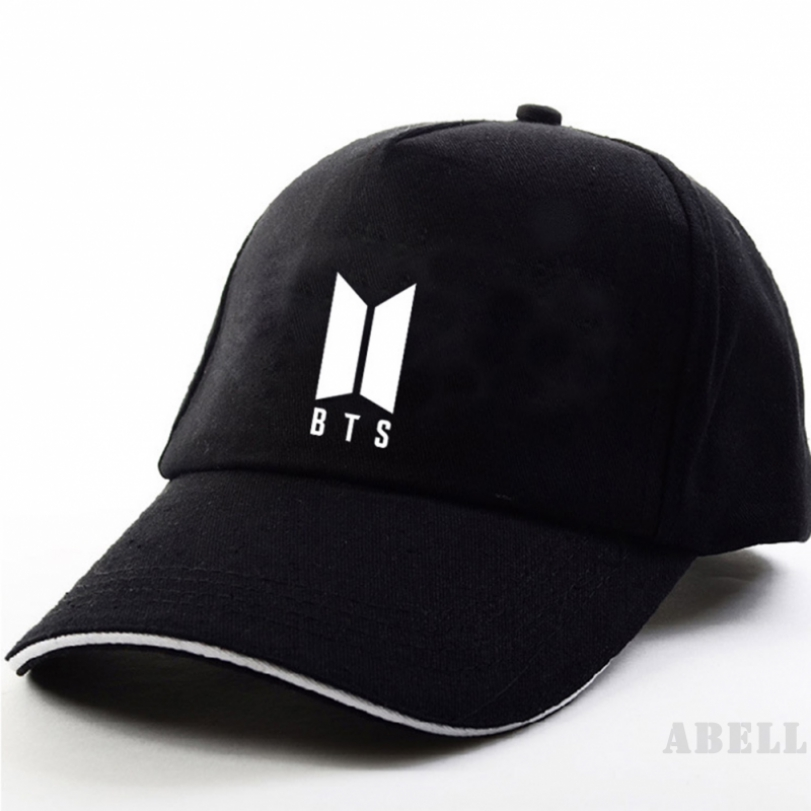 abell Ready Stock] COD BTS ARMY Adult Letter Casual Solid Cap Baseball