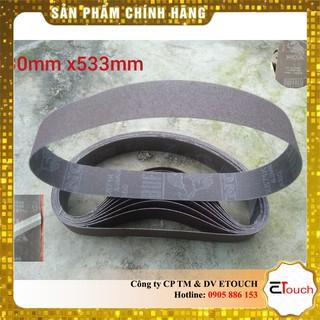 Nhám vòng 30-533mm mài kim loại hiệu BUFFALO Nhật Bản vải X871K mối nối PVC