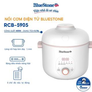 Nồi Cơm Điện Tử 0.75L BlueStone RCB-5905 thumbnail
