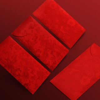 Orders over 250000 DongshipmentsnHigh-end business red envelope Chinese brocade