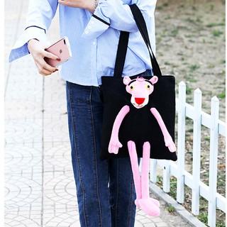 túi đeo báo hồng Hàn Quốc